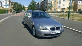 2006 bmw 520d SE Touring 6 speed MOT March 2019 full leather interior panoramic glass roof