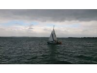 21 foot Corribee Sailing Boat for sale,Chichester harbour.
