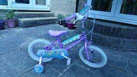 """Disney Princess bike 14"""""""