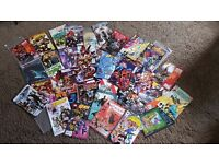 Job lot of comics and books