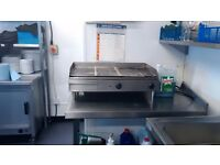 50 inches hot plate or grill professional for Cafe restaurant outside catering burger van and more??