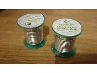 Summit Lead Free Soldering Wire, 99c 3.25mm 250gm Lead Free Solder Real New
