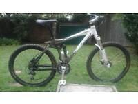 RAM full suspension mountain bike