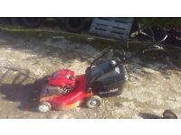 Mountfield power drive lawnmower honda engine