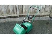 Suffolk Punch 14s petrol cylinder lawnmower