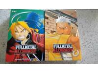 Fullmetal Alchemist volumes 1-6