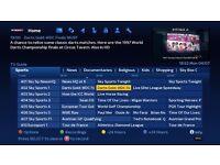 Droid T-Box Premium 1TB, 12 Month Sub, Sky Tv Guide