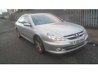 2005 Peugeot 607 Se Hdi Auto - Silver Diesel - 2179cc - Great Drive - Fully loaded with heated seats