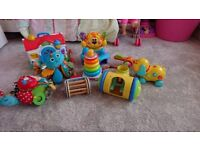 Bundle of Fisher Price and Lamaze toys