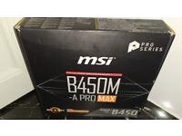 MSI B450M-A PRO MAX AMD Motherboard Socket AM4 Micro ATX