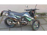 Supermoto - Lexmoto Adrenaline 125cc - 65 Plate - Low Miles (Not Yamaha, Honda, Aprilia)