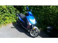 50cc Moped Lexmoto fm50 happy to trade for a 125 also.
