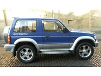 MITSUBISHI PAJERO 2.8 FIELDMASTER SWB MANUAL 140BHP RARE MODEL ALLOYS SPOILER WINTER PACK EVO RS 4WD