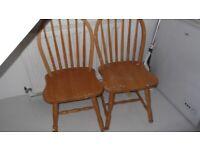 chair x2. 1980