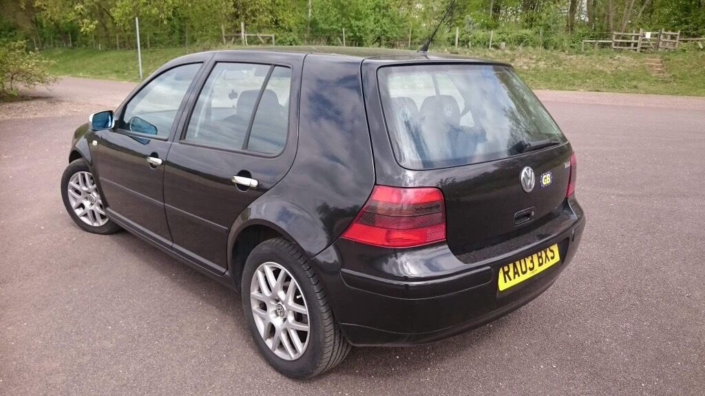 vw golf 4 1 9 tdi 2003 for sale in norwich norfolk. Black Bedroom Furniture Sets. Home Design Ideas