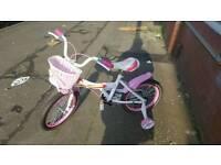 Kids Pink bike & Green bike for sale