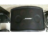 Bose Pancras 802 series 3 speakers,lids,wall mounts