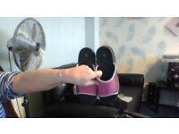 pink sandal / flipflops never been worn size 5