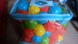 ELC Sensory Ball Pit and Bag of Balls