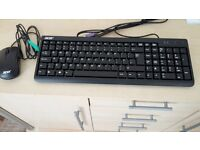 Acer keyboard and mouse