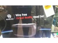 Wi-Fi free virtual reality headset
