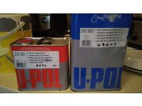 2K U-Pol Lacquer Clear Coat & Hardener - Used