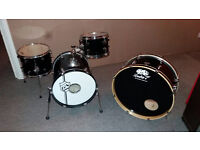 Lucky 7 custom/modified bebop/busking drum kit. RARE 1 of 1!!!!!!