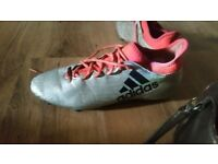 adidas x football boots adult size 13