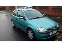 Vauxhall Corsa 1.2, Petrol, Manual, quick sale
