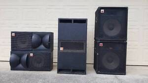 JBL PA Speakers Parkwood Gold Coast City Preview