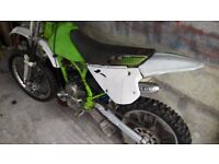 kx100 spare parts or very brave project