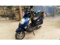 2012 Lintex 50cc scooter learner legal