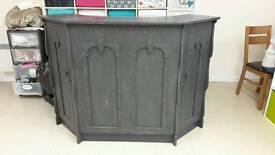 Gothic/ vintage desk/ bar