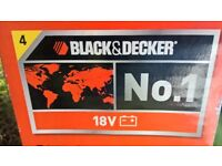 BLACK & DECKER CORDLESS 18 VOLTS ELECTRIC STRIMMER