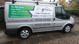 5 Star Gutter Fascia Soffits Conservatory Cleaning Services. Based in Coalville.