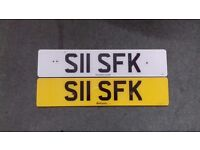 private plate on retention with all fees paid