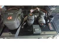 Sony a450 Dslr Camera