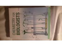 Chemistry for Biologists - David Reed. Perfect Condition.