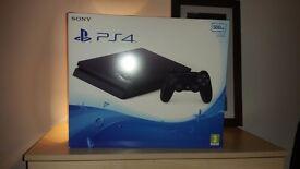 PlayStation 4 500GB FRESH NEW SEALED!!!