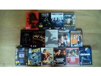 Selection of DVD box sets and movies including Game of Thrones, House of Cards, Homeland.......