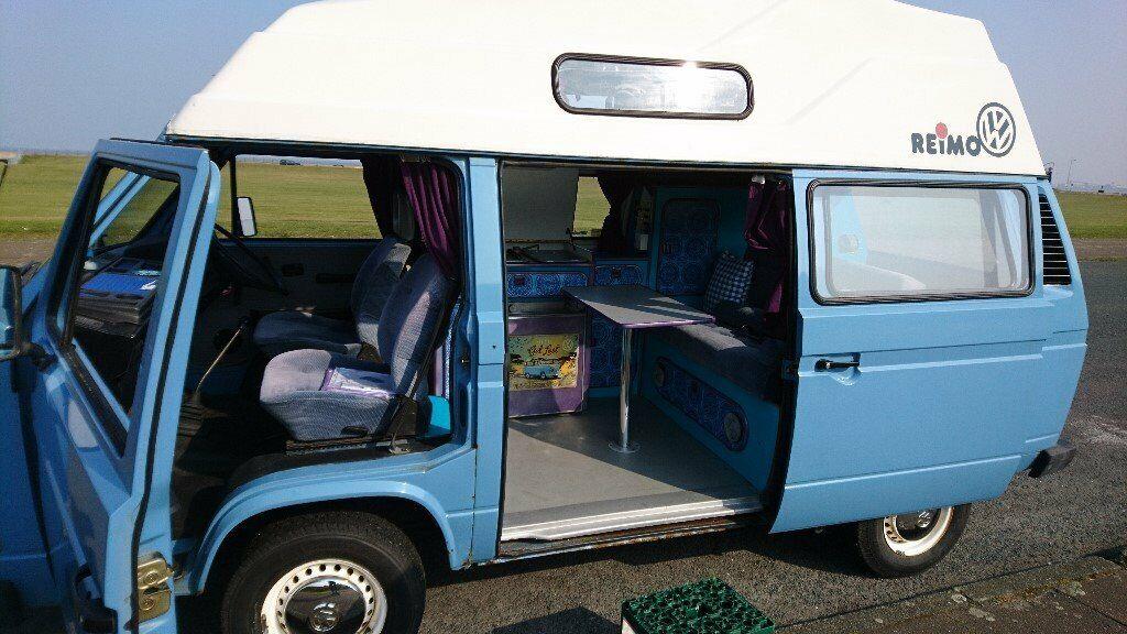 1d2d813f49 1987 VW T25 Transporter Remo Hi-Top Camper van