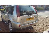 Nissan X TRAIL Columbia 2.2dci superb towing vehicle