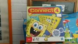 Sponge bob square pants connect 4. Ex con