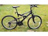 Mens full suspension mountain bike cheap transport