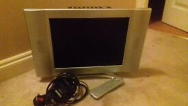 "15"" LCD TV with built in DVD player"