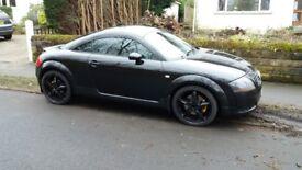 2001 Mk1 Audi TT 1.8 petrol turbo in black