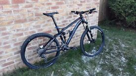 Ghost ASX medium mountain bike