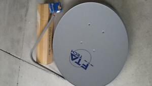 FTA Satellite Dish New