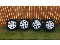 Genuine Audi alloy wheels and tyres