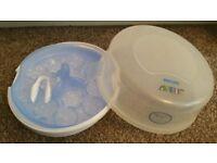 Avent microwave baby bottle steriliser